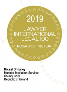 Mediator of the Year Certificate 2019